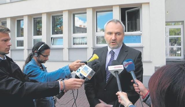 Rzecznik Prokuratury Okregowej w Częstochowie, prokurator Tomasz Ozimek.