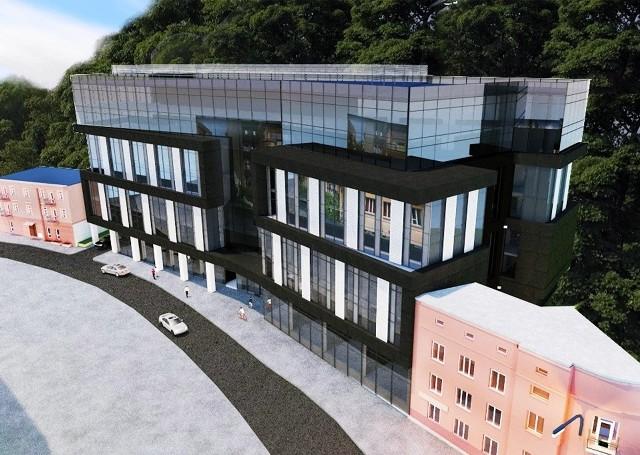 Wizualizacja budynku