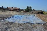 Łukowa. Duszący smród amoniaku nad wioską. Inspektorzy Ochrony Środowiska badają odpady