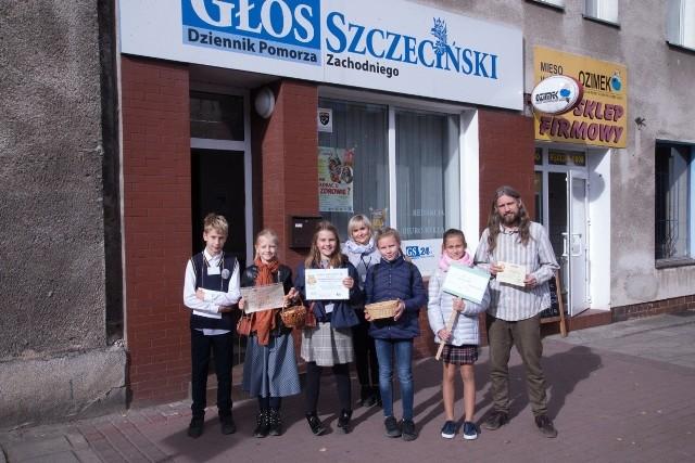 Uczniowie SP 1 w Stargardzie odwiedzili naszą stargardzką redakcję.