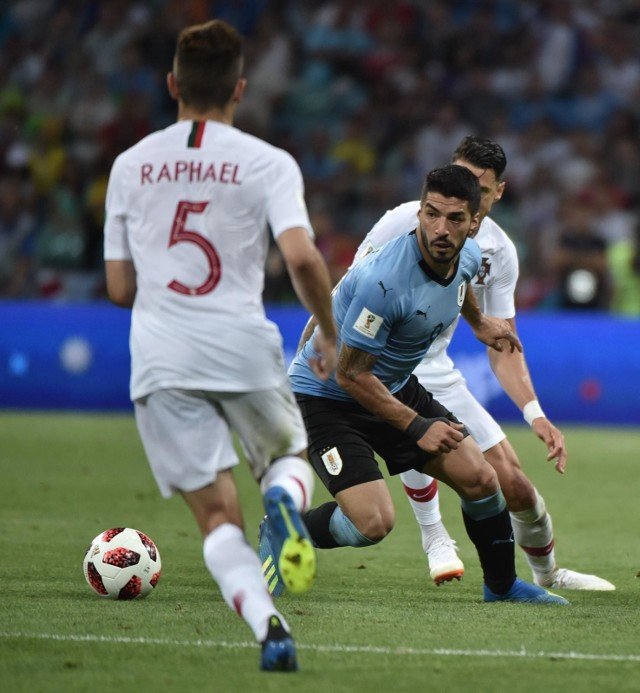 Luis Suarez w meczu z Portugalią gola nie strzelił, ale miał jedną asystę i pięć kluczowych podań.