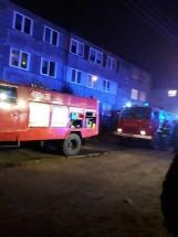 Szudziałowo. Przed pożarem zdążyli uciec z mieszkania (zdjęcia)