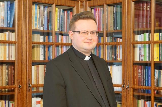 Ks. Adam Jaszcz, rzecznik archidiecezji lubelskiej