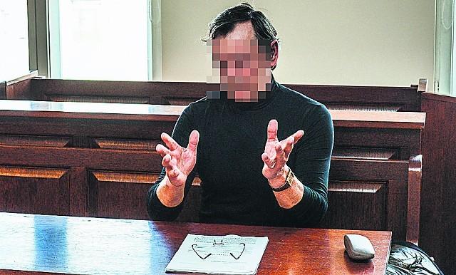W poniedziałek rozpoczął się niejawny proces o zniesławienie Dariusza L. przez Krzysztofa Sz. (na  zdjęciu)