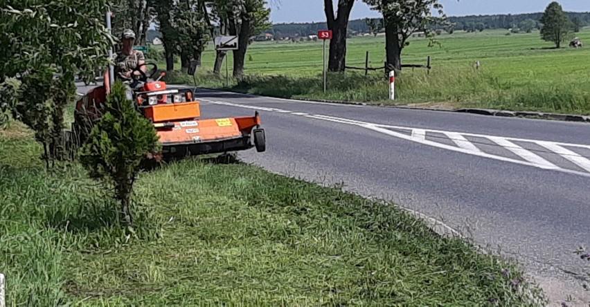 Do piątku 7 czerwca 2019 r. mają trwać prace na poboczach drogi krajowej nr 53