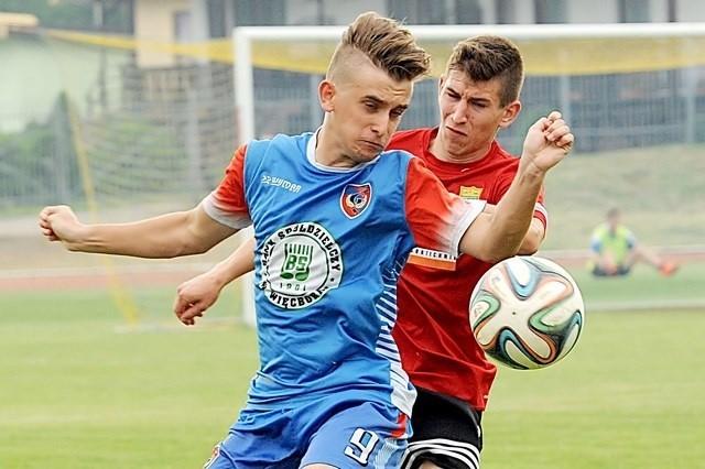 Znakomitą zaliczkę z Więcborka przywieźli piłkarze z Wabcza.  Jutro wieczorem mogą cieszyć się z historycznego sukcesu.