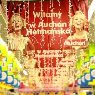Auchan Hetmańska jest mniejsze od sklepu przy Produkcyjnej, ale liczy, że więcej białostoczan będzie robiło tu codzienne zakupy.