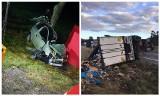 18-letni kierowca zginął w wypadku. Jego siostra trafiła do szpitala