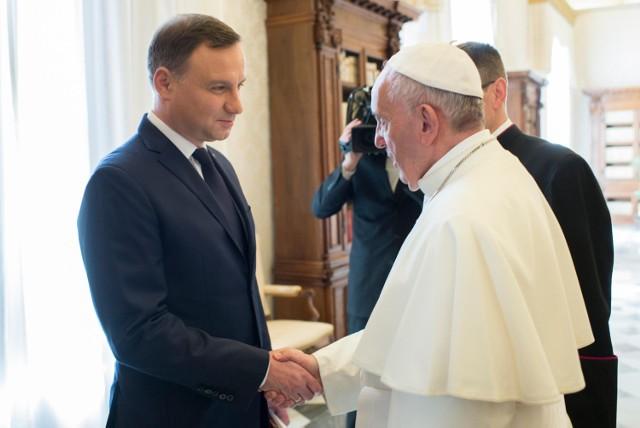 Andrzej Duda w Watykanie