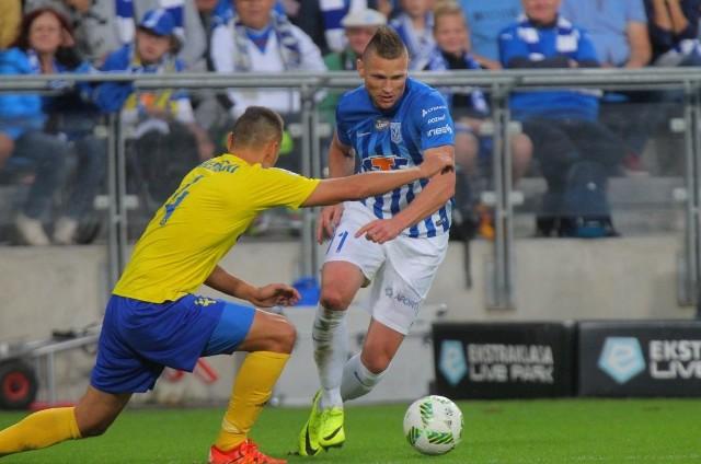 Marcin Robak  w meczu z Arką w Poznaniu nie zdobył gola, ale wtedy nie był w takiej formie jak  teraz