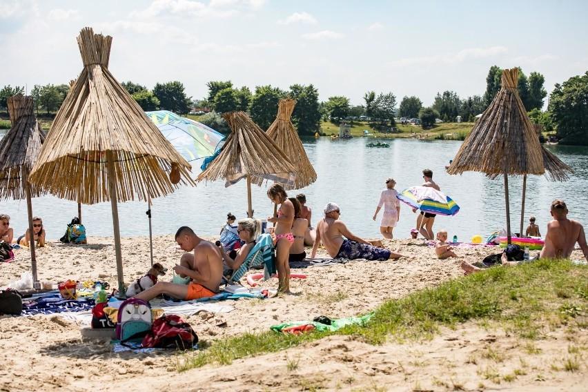 Zalew w Kryspinowie - 12 km od centrum Krakowa...