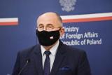 ONZ: Zbigniew Rau spotkał się w Nowym Jorku z Siergiejem Ławrowem. To pierwsze takie spotkanie szefów MSZ Polski i Rosji od 2019 roku