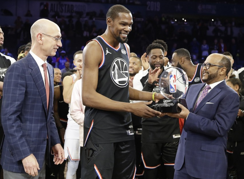 Kevin Durant po raz drugi był najlepszy.