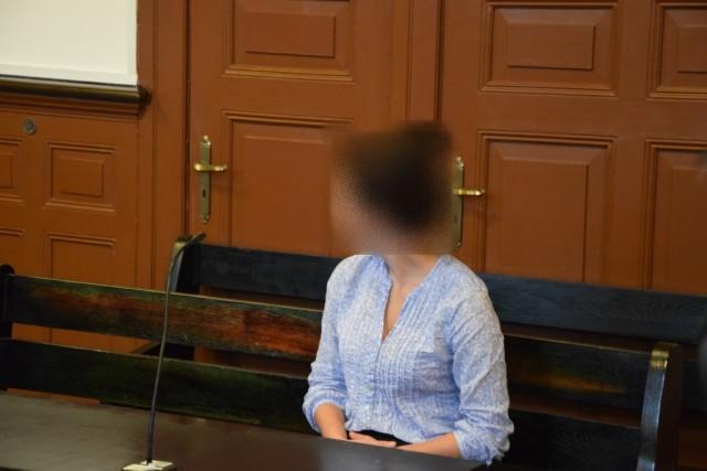 Na zdjęciu: obwiniona Paula M. z Miastka.