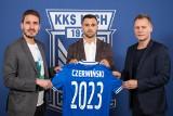 Alan Czerwiński podpisał kontrakt z Lechem Poznań. Do lipca pozostanie w Lubinie