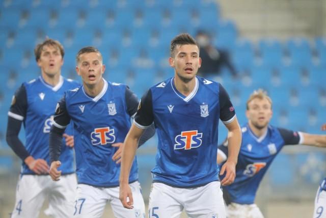 W Poznaniu Lech wygrał ze Standardem 3:1. Rewanż w czwartek, 26 listopada.