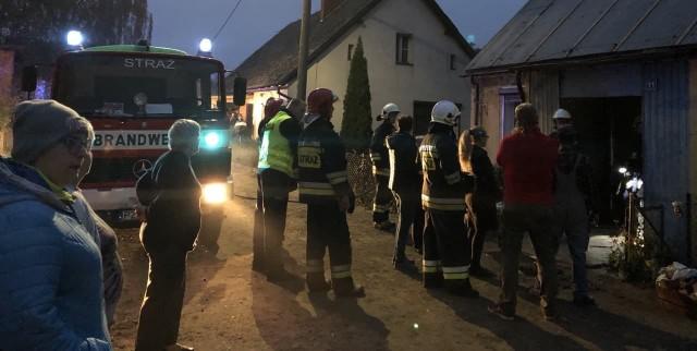 W piątek we wsi Głęboczek w gminie Murowana Goślina miał miejsce pożar spowodowany zapłonem gazu ulatniającego się z butli.