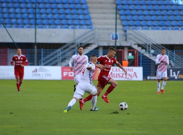 Lotto Ekstraklasa: Piast Gliwice - Górnik Zabrze 1:0.