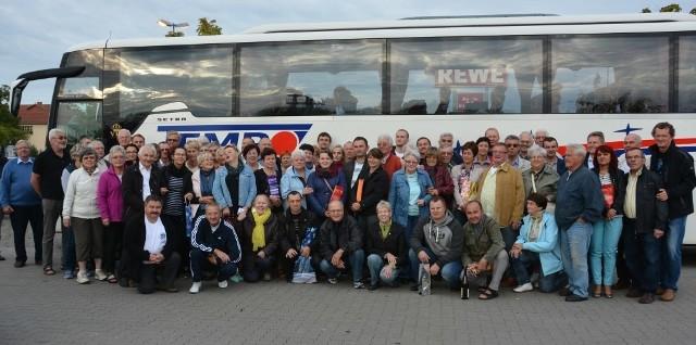 Uczestnicy wizyty w Mutterstadt.