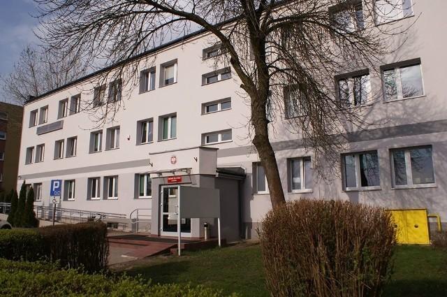 Siedziba PUP w Słupsku przy ul. Leszczyńskiego 8.