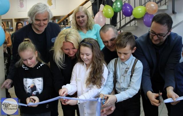 Uroczyste otwarcie biblioteki po remoncie odbyło się w piątek, 24 stycznia