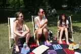 Festiwal Odpoczynku Chill Fabric. Leżakowali w parku