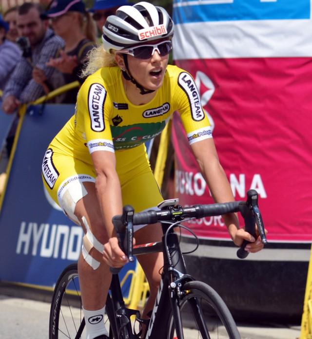 Jolanda Neff, liderka Tour de Pologne kobiet