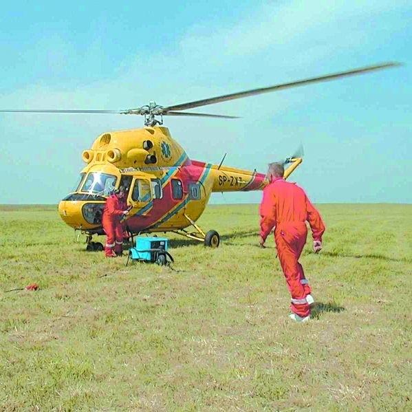 Helikopter z bazy LPR w Suwałkach nie ma w zasięgu działań Wielkich Jezior Mazurskich, lecz część Białorusi, Litwy czy Obwodu Kaliningradzkiego