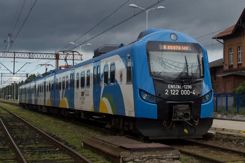 """""""ALicja"""" na stacji w Wysokiej Kamieńskiej w 2017 orku"""