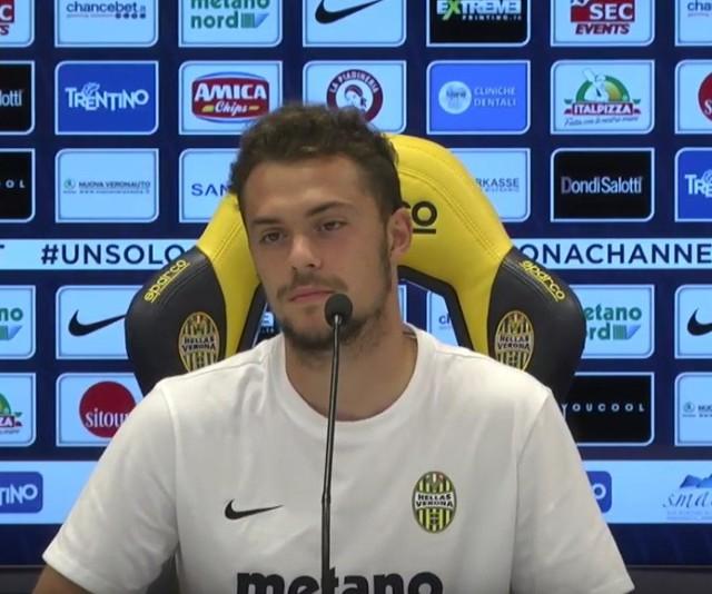 Gian Filippo Felicioli ma doświadczenie na boiskach Serie A. 23-latek występował na tym poziomie m.in. w barwach Hellasu Werona.