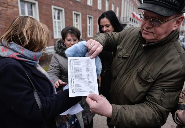 Protest głodowy pracowników Opery Bałtyckiej