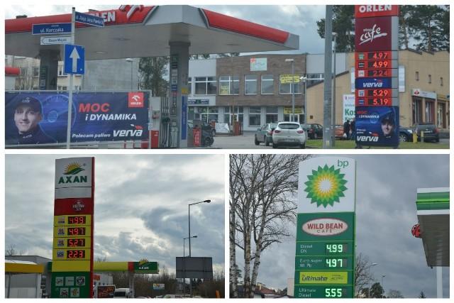 Przedstawiciele Orlenu i Axanu złożyli wyjaśnienia dotyczące wysokich cen paliw w Pionkach.