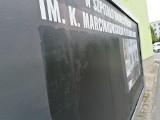 Drastyczny billboard antyaborcyjny przy Urzędzie Miasta Zielona Góra został zamalowany. Ktoś wezwał policję