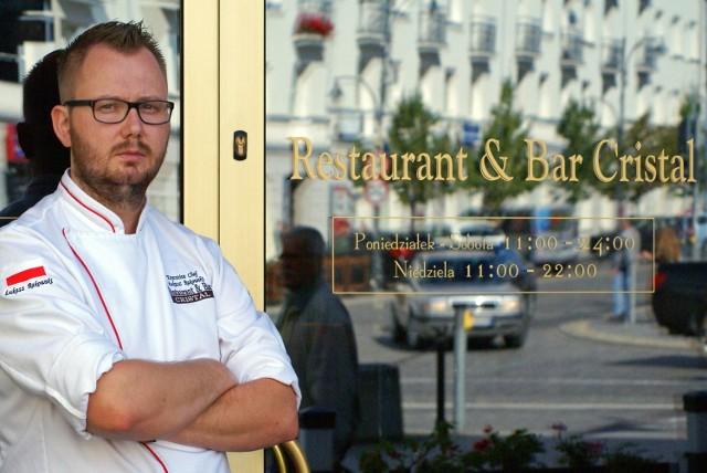 Szef kuchni Hotelu Cristal z szansą na miejsce w przewodniku Gault&Millau