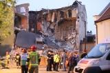 Kamienica zawaliła się w Chorzowie. Strażacy szukają ludzi pod gruzami. Akcja trwała całą noc