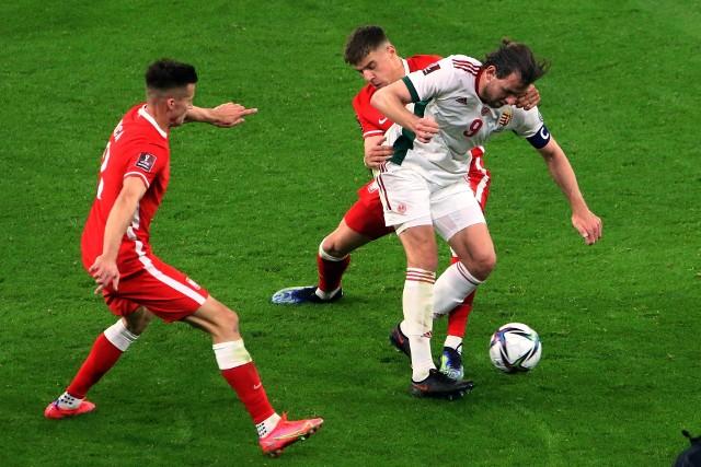 Fragment meczu Węgry - Polska