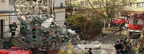 W wyniku wybuchu domu na ulicy Kąkolowej, ucierpiało pobliskie przedszkole