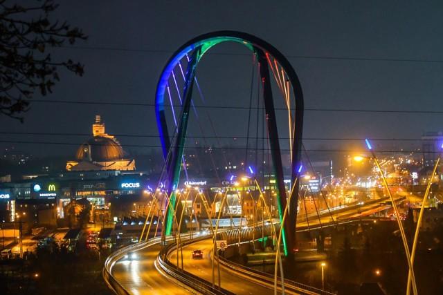 Most na Trasie Uniwersyteckiej w Bydgoszczy