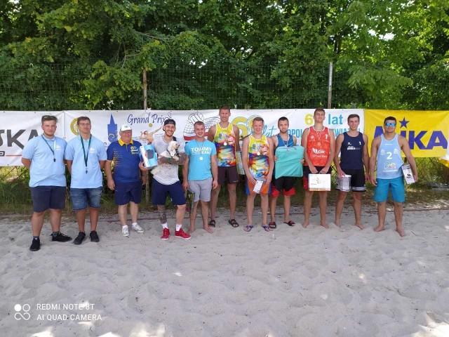 Tak prezentowali się najlepsi zawodnicy w Suchym Borze.