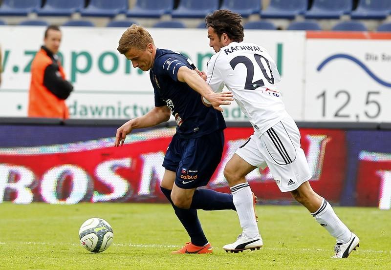 Maksymilian Rogalski zdobył bardzo piękną bramkę w meczu z Podbeskidziem.