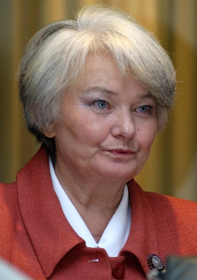 Zdaniem europosłanki Krystyny Łybackiej Ziółkowski może przynieść Platformie więcej głosów niż Grupiński