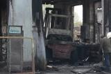 Pożar tartaku w Warlubiu. W akcji dziewięć zastępów straży pożarnej [wideo, zdjęcia]