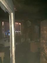 Dobczyce. Pożar w domu jednorodzinnym. Dym odciął drogę ucieczki dwóm kobietom