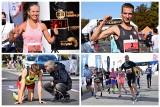 Uśmiechnięci biegacze przebiegli przez miasto