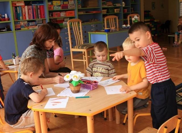 W przedszkolu nr 8 na szczęście nie było problemu z miejscami dla maluchów.