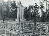 Zwierzyniec. Cmentarz wojskowy: historia nekropolii