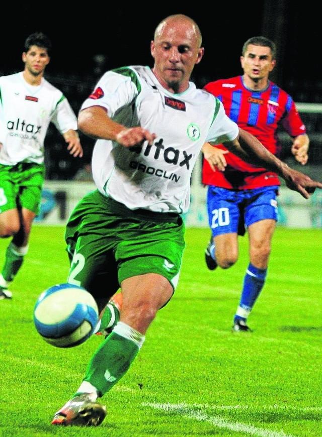 Piotr Rocki w swej karierze grał też przeciwko Polonii Bytom