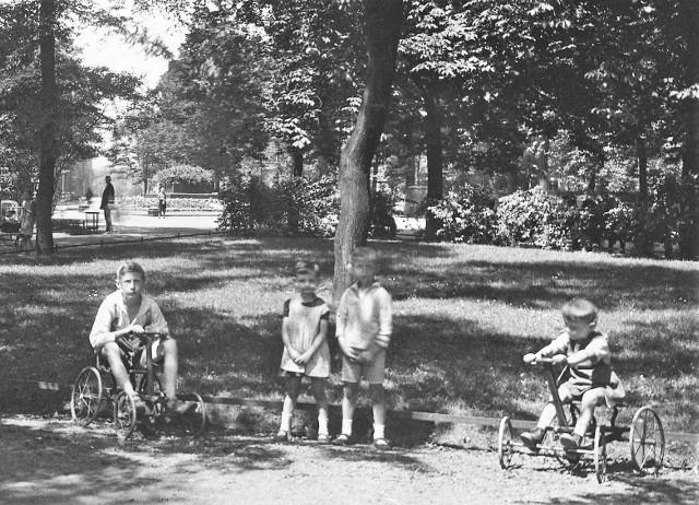 Park Kościuszki w Katowicach... 100 lat temu