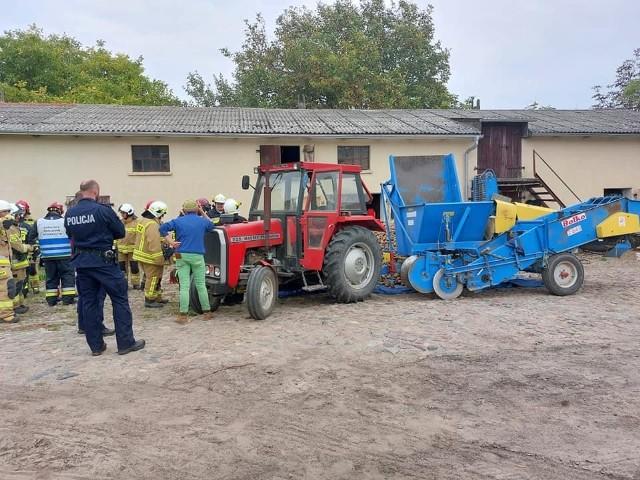 Do wypadku doszło w gminie Łubianka