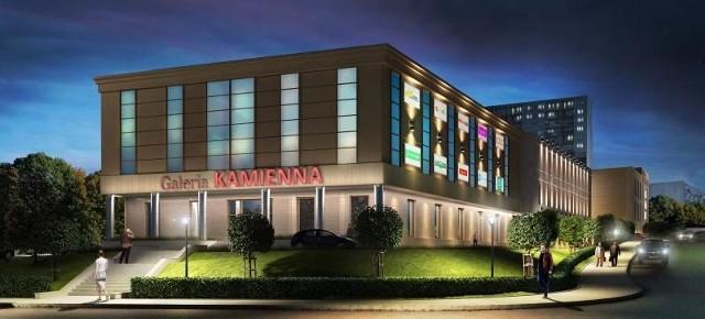 Tak będzie wyglądało Centrum Handlowe, które powstaje u zbiegu ulic Armii Krajowej i Kościelnej.